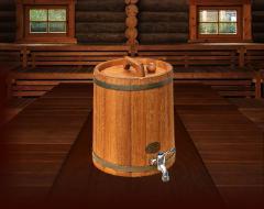 Kegs wooden jugs