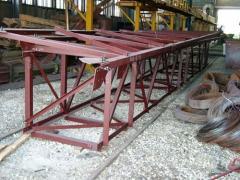 Металлоконструкции промышленных зданий и