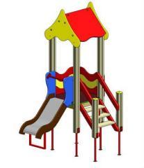 Игровые комплексы для малышей на детских