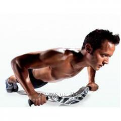 Balancing support for push-ups of Pro-Form