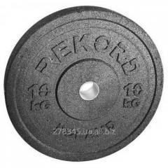 The bumper disk Rekord of 10 kg BP-10