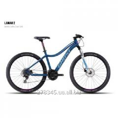 GHOST Lanao 2 darkblue/white/cyan/pink bicycle,