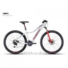 GHOST Lanao 4 white/red/darkred/blue bicycle,