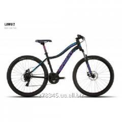 GHOST Lawu 2 black/pink/blue bicycle, 16MS4504