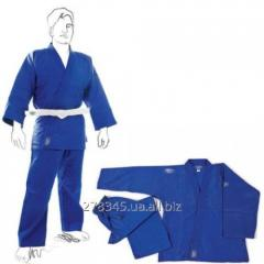 Green Hill kimono for judo of CLUB blue river of