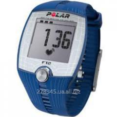 Monitor of a warm rhythm POLAR FT2 blue