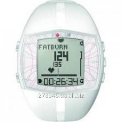 Monitor of a warm rhythm POLAR FT40F white