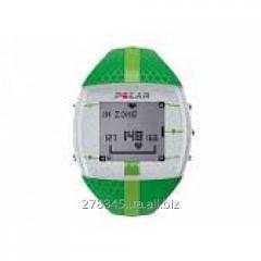 Monitor of a warm rhythm POLAR FT4F green