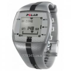 Monitor of a warm rhythm POLAR FT4M silvery