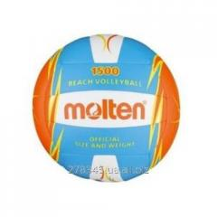 Ball for beach volleyball of Molten V5B1500-CO