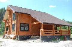 Projects of private wooden houses