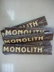 Electrodes Monolith of RTs of of 4 mm.
