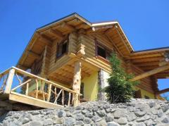 Projects of wooden country houses and cottages
