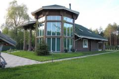 Cottages wooden, Ukraine