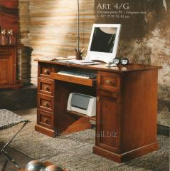 Italian computer table, Ferro Raffaello