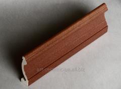 Плинтус керамический напольный широкий