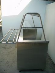 Food warmer 1kh dishes 1500x700x1450 3 komforka
