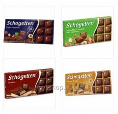 Шоколад Schogetten 100г в асортименте