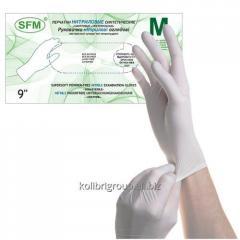 Gloves nitrile SFM color white XS, S, L size