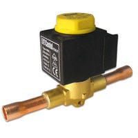 The solenoidal gate under the soldering with the