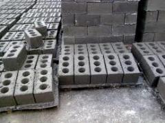 Slag stones concrete