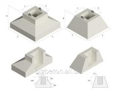 Products are reinforced concrete