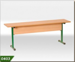 Скамейка 3-х местная (1500х300х460) для учебных