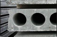 Overlapping plates multihollow reinforced concrete