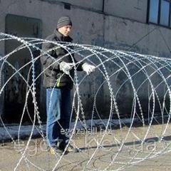 Заграждение колюче-режущее спиральное Егоза Супер 1500/9