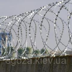 Заграждение колюче-режущее спиральное ЗКР Концертина 1100/7