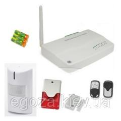Set of the wireless GSM alarm system