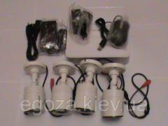 Set of system of video surveillance of Hikvision