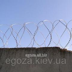 Спиральная колючая проволока Егоза Кайман...