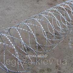 Проволока колючая спиральная Егоза Аллигатор 900/7