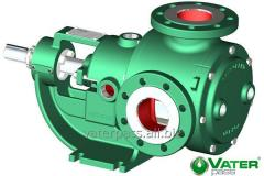 The pump for viscous and hot liquids the Gear pump