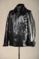 Sheepskin coat model 6602, from the company of the