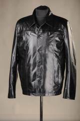 Jackets man's of genuine leather the Leather