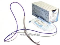Vikril 0, the needle pricking violet 75 cm 36 mm,
