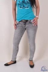 Jeans with a belt female streychevy DSQUARED 1924
