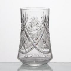 Set of glasses of crystal 200 ml of 6 pieces