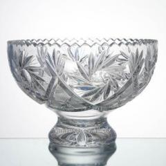 Vase for fruit from crystal 6035 1 size 1000/1