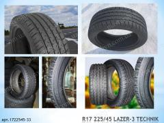 High-quality tires 225/45/R17