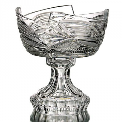 Vase crystal for table layout 10372 1 conducted