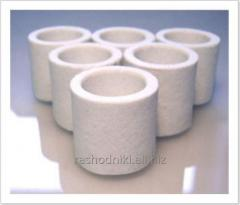 Ceramic crucible analog of C4500 (528-018) 528-050