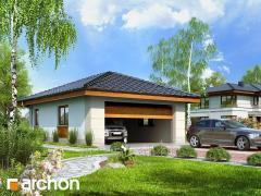 Проект гаража Двухместный гараж Г18