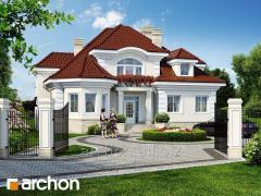 Готовый проект дома Резиденция в Мышленицах 2