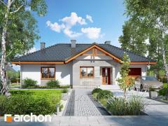 Готовый проект дома Дом в неринах 5