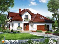 Проект дома оригинальный Дом в дурмане