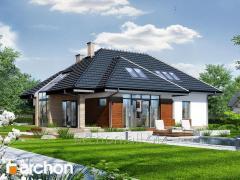 Проект дома оригинальный Дом в хеномелесе 3