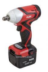 "2-speed professional shock drill screw gun of AID 14,4/3,0 1/4"" FLEX"